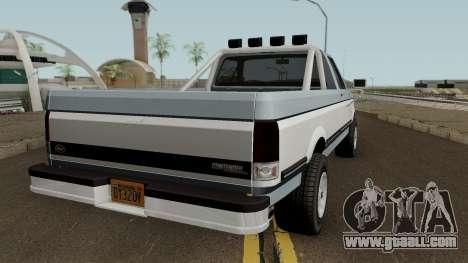 Vapid E-109 Single Cab Contender Retro for GTA San Andreas