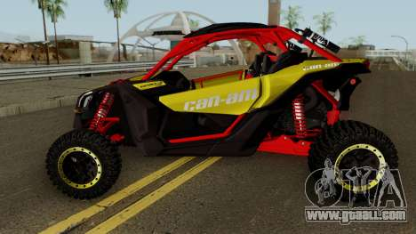 Can-Am Maverick X3 for GTA San Andreas left view