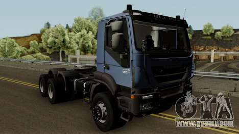 Iveco Trakker Cab Day 6x4 for GTA San Andreas inner view