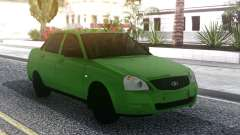 Lada Priora Green for GTA San Andreas