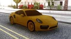 Porsche 911 Yellow for GTA San Andreas