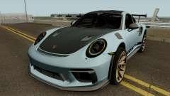 Porsche 911 GT3 RS 2018 for GTA San Andreas