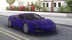 Ferrari 488 Pista 2019 new for GTA San Andreas