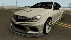 Mercedes Benz C63 AMG Coupe Liberty Walk 2014 for GTA San Andreas