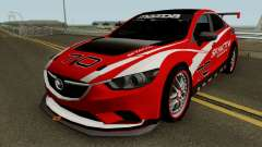 Mazda 6 SKYACTIV-D Racing for GTA San Andreas