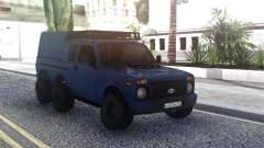 Niva Urban 6x6 for GTA San Andreas