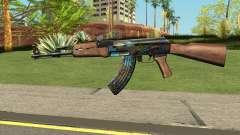 AK-47 Case Hardened for GTA San Andreas