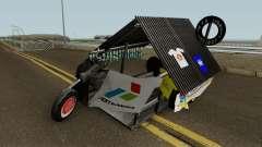 Vespa Extreme Sampahan V2 for GTA San Andreas