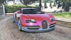Bugatti Veyron Super Sport 2010 v2.0 [replace] for GTA 5