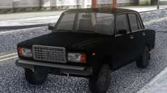 VAZ 2107 Black Stock for GTA San Andreas