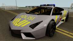 Lamborghini Reventon Polres Indonesia for GTA San Andreas
