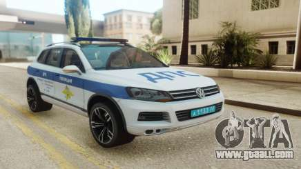 Volkswagen Touareg NF Russian Police for GTA San Andreas