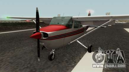 Cessna 172 Skyhawk (Updated) for GTA San Andreas