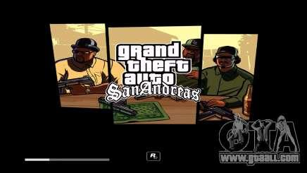 GTA V Style Loadscreens (San Andreas) for GTA San Andreas