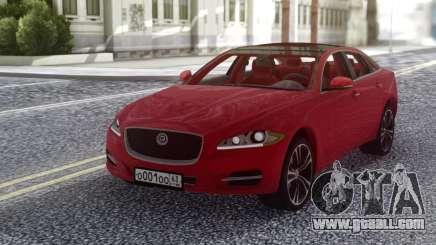 Jaguar XJ 2010 Red for GTA San Andreas