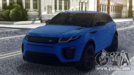Land Rover Range Rover Evoque Blue for GTA San Andreas