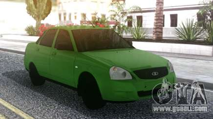 Lada Priora Green for GTA San Andreas