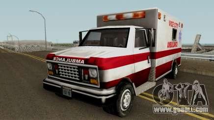 Ambulance from Vice City for GTA San Andreas