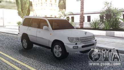 Toyota Land Cruiser 105 White for GTA San Andreas