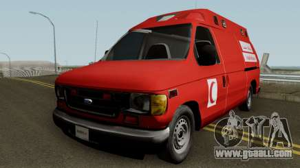 Ford E-150 Ambulan Moroccain for GTA San Andreas