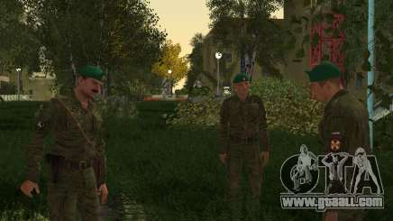 Pak fighters of the MIA for GTA San Andreas