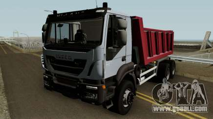 Iveco Trakker Dumper 6x4 for GTA San Andreas