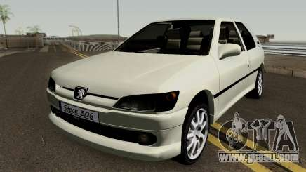 Peugeot 306 MQ for GTA San Andreas
