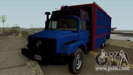 Benefactor Terrorbyte GTA V for GTA San Andreas