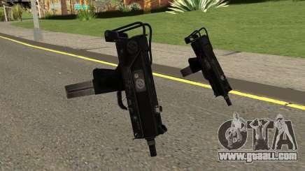 MAC-11 Black for GTA San Andreas