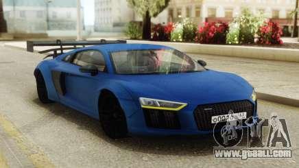 Audi R8 Carbon Spoiler for GTA San Andreas