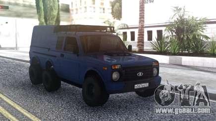 Niva Urban 6x6 for GTA San Andreas