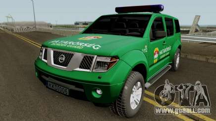 Nissan Pathfinder Hatarorseg for GTA San Andreas