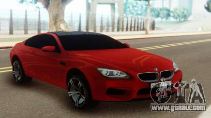 BMW M6 Red Coupe for GTA San Andreas