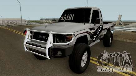 Toyota Land Cruiser 79 2018 for GTA San Andreas