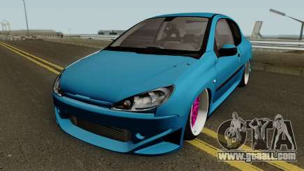 Peugeot 206 SD for GTA San Andreas