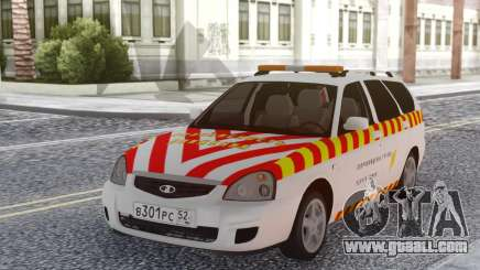 Lada Priora Escort of dangerous goods for GTA San Andreas