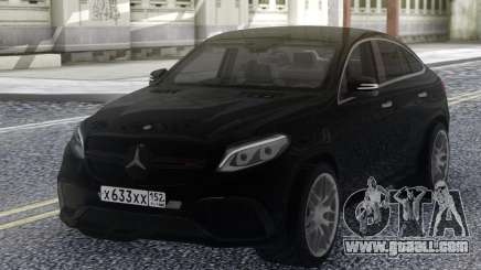 Mercedes-Benz GLE 63 4MATIC AMG for GTA San Andreas