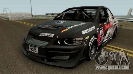 Mitsubishi Lancer Evo IX Eugen for GTA San Andreas