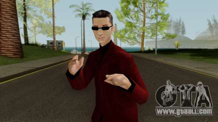 Wu Zi Mu - Red Suit for GTA San Andreas
