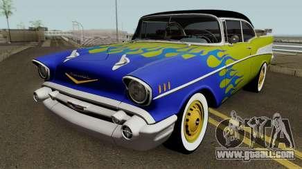 Chevrolet Bel Air Sports Hotrod 1957 for GTA San Andreas