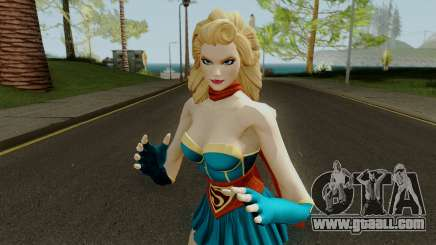 DCUO Supergirl Bombshell for GTA San Andreas