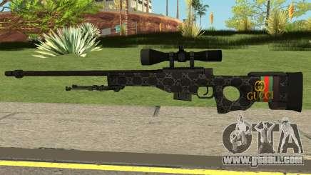 Sniper Rifle Gucci for GTA San Andreas