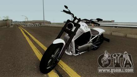 Western Motorcycle Nightblade GTA V for GTA San Andreas