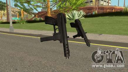 Tec9 HQ (With HD Original Icon) for GTA San Andreas