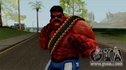 MFF Red Hulk USA Avengers for GTA San Andreas