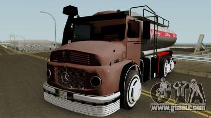 Mercedes-Benz 1924 (Fuel Tanker 1981) for GTA San Andreas