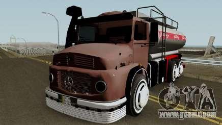 Mercedes-Benz 1924 (Fuel Tanker 1981) for GTA San Andreas