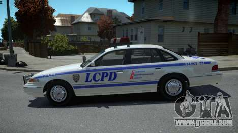 Ford Crown Victoria LCPD 1995 for GTA 4