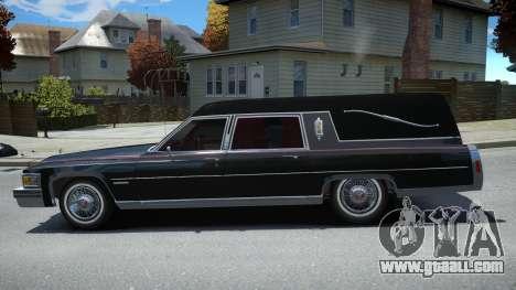Cadillac Fleetwood Hearse 1978 for GTA 4