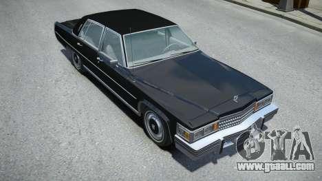 Cadillac Fleetwood Brougham 1978 for GTA 4